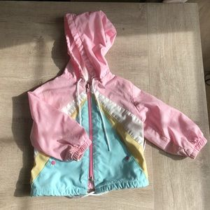 Lightweight baby girls jacket